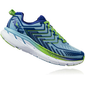 Hoka One One Clifton 4 Running Shoes Women sky blue/surf the web
